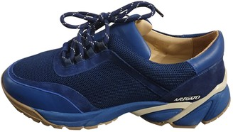 Axel Arigato Blue Leather Trainers