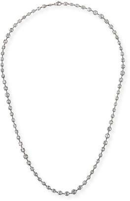 Rahaminov Diamonds 18k White Gold Rose-Cut Diamond By-the-Yard Necklace