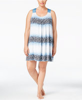 Alfani Plus Size Racerback Chemise, Only at Macy's