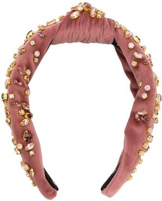 Lele Sadoughi embellished hairband