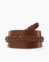 Chico's Bailey Braided Obi Belt