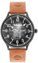 Timberland Blanchard Multifunction Leather Strap Watch