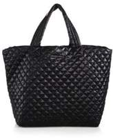 M Z Wallace Metro Large Quilted Nylon Tote