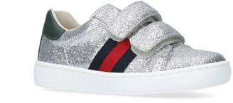 Gucci Kids New Ace VL Glitter Sneakers