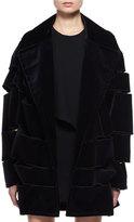 Tom Ford Slashed Velvet Evening Coat