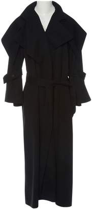 N. Claude Montana \N Black Wool Trench coats