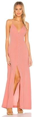 L'Academie The Caroline Maxi Dress