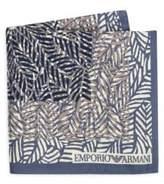 Emporio Armani Printed Silk Handkerchief