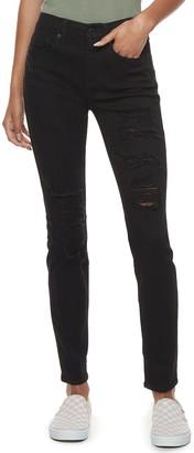 Mudd Juniors' FLX Low Rise Stretch Skinny Jeans