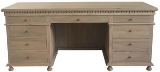 S & G Imports Abbott Desk Weathered Oak