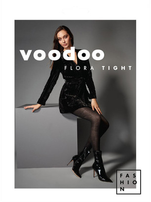 Voodoo 'Flora' Fashion Tight HXXV1N Black Ave-Tall