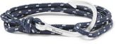 Miansai - Hook Cord Silver-plated Wrap Bracelet