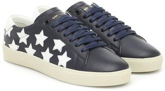 Saint Laurent Court Classic leather sneakers