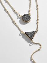 BaubleBar Kera Druzy Layered Necklace