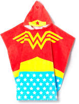 Intimo Wonder Woman Terry Hooded Poncho - Girls