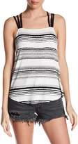 RVCA Scramble Striped Tank