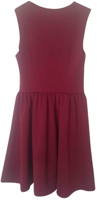 River Island \N Burgundy Dress for Women