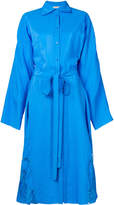 Nina Ricci loose-fit belted shirt dress