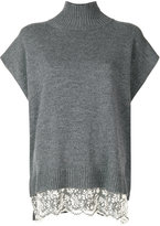 Ermanno Scervino shift knitted top