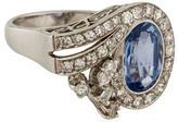 Ring Sapphire & Diamond
