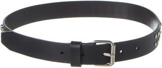 Versus By Versace Leather Belt