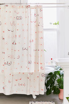 Urban Outfitters Allover Boobs Shower Curtain
