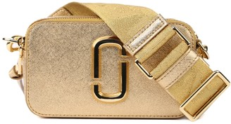 Marc Jacobs The Snapshot Dtm Metallic Leather Bag