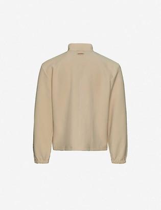 Pieces Uniques Joy high-neck crepe jacket
