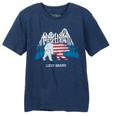 Lucky Brand Home of the Brave Tee (Little Boys)