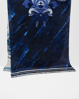 Ted Baker Persian Blue silk scarf