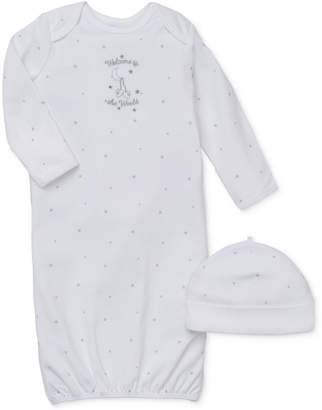 Little Me Baby Boys & Girls Welcome To The World Hat & Gown Set