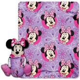 Disney The Northwest Company Minnie Bowtique Throw and Plush Toy