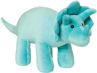 Manhattan Toy Spike Velveteen Triceratops Plush Toy