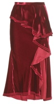 Givenchy Velvet Skirt