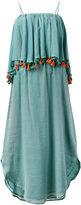 Carolina K. tassel deep frill dress