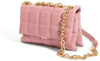 """House of Want """"H.O.W."""" We Slay Small Shoulder Bag In Pink"""
