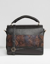 Urban Code Urbancode Leather Grab Bag With Optional Shoulder Strap