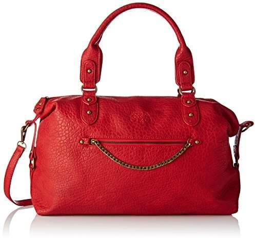 Le Temps Des Cerises Women's LTC4P4X Top-Handle Bag Red