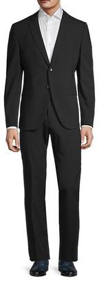 HUGO BOSS Super 110 Reymond/Wenten Regular-Fit Virgin Wool Suit
