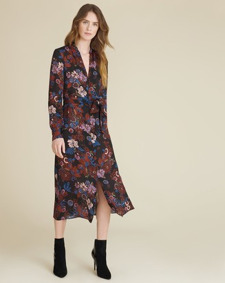 Veronica Beard Leanna Floral Shirtdress