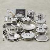 All-Clad Copper Core 33-Piece Cookware Set
