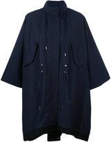 Moncler Pissenlit cape coat - women - Polyester - 1