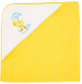 Sweet & Soft Yellow Duck Hooded Towel