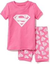Old Navy DC Comics Supergirl Sleep Set for Toddler & Baby
