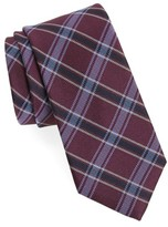 Nordstrom Men's Big & Tall Oxford Plaid Silk Tie
