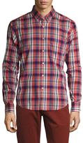 Naked & Famous Denim Plaid Button-Down Regular Sportshirt