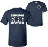 Gildan Chicago Fire Department 2-Sided Maltese Big Logo T-shirt-10837-10868