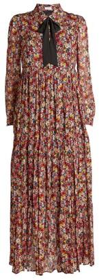 Claudie Pierlot Floral Maxi Dress