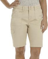 Lee Cargo Bermuda Shorts - Petite