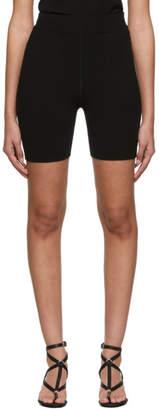 Alexander Wang Black Foundation Bodycon Biking Shorts